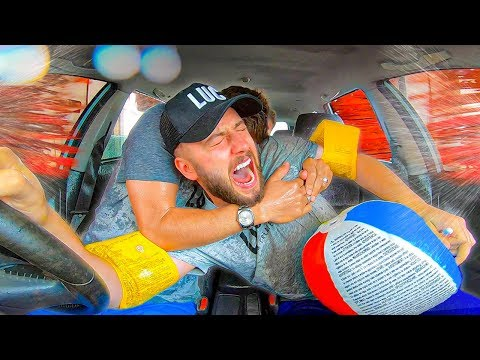 WINDOW DOWN CAR WASH SURVIVAL ($10,000 on the line)