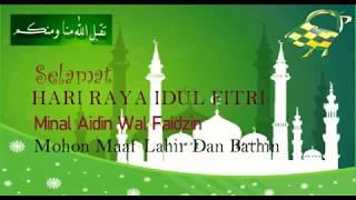 Ucapan Selamat Hari Raya Idul Fitri 1439 H 2018