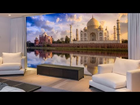 3d wallpaper design youtube for Wallpaper ideas for your home