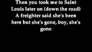 Johnny Cash - Big river with lyrics