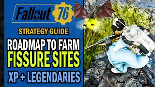 Fallout 76 - How to FARM FISSURE SITES - 20 Legendary Items & 2 Levels per Hour | Strategy Guide