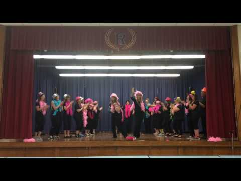 Romney Elementary School End of the year dance 2017