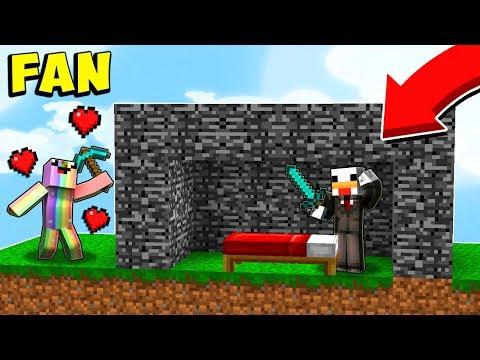 UN FAN IMPAZZITO NELLE BEDWARS!! - Minecraft ITA