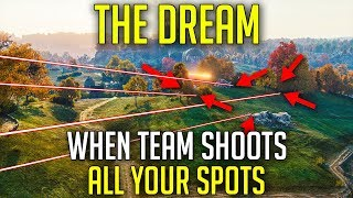 When Your SPOTS Are Getting SHOT! | World of Tanks Overpowered EBR 105 Gameplay