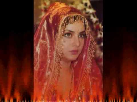 Very Rare Collection Divya Bharati As A Bride
