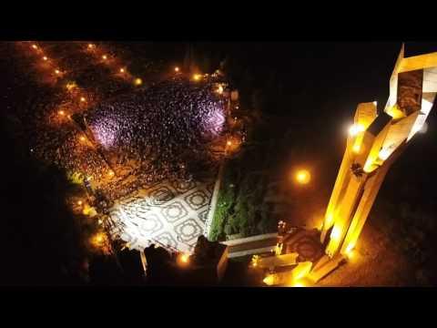 A prayer for Stara Zagora - Light and music show in memoriam