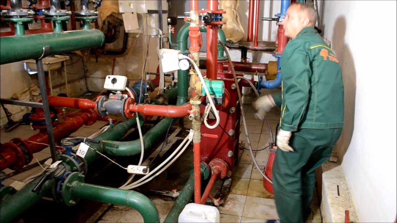 Промывка теплообменника химическим способом Пластины теплообменника Kelvion NT 25M Самара