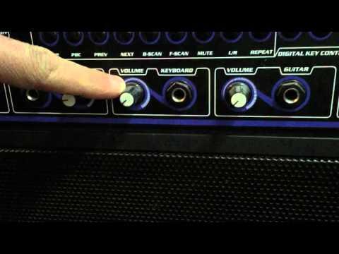 VocoPro - Gigstar Jam-Along Karaoke System Amplifier DVD Player Mic Jacks Boombox