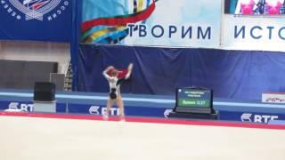 Anastasia Sidorova - Russian Cup 2016 - EF FX 13.433