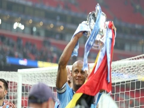 WATCH: Yaya Toure, Vincent Kompany and the Man City Stars win the Capital One Cup Final