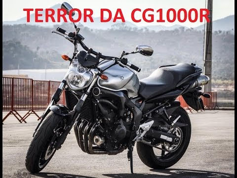 FZ6 VS CG1000R, SEM DESCULPA POR FAVOR HONDEIRO!