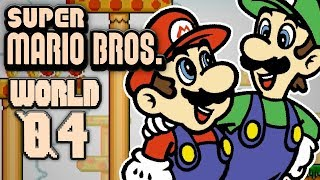 Super Mario Bros. World 4 - SAVE YOURSELF BROTHA! w/Facecam (2 Player)
