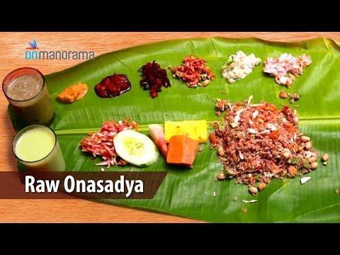 Raw Onasadya - the ultimate vegan Onam feast