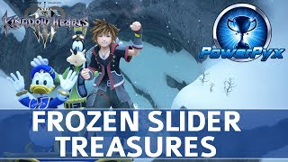Download Kingdom Hearts 3 - Frozen Slider Minigame All 10 Treasure Locations (Orichalcum+)