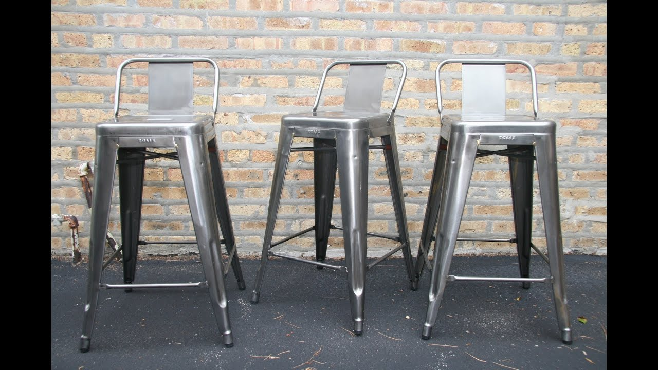 Comfortable Metal Bar Stools With Back For Your Perfect Mini