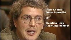 Peter Knechtli vs. Christian Heeb Lokalfernsehen TV Play SRF Karussell 27 9 1984