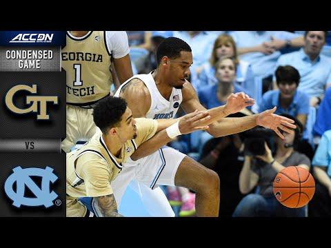Georgia Tech Vs. North CarolinaCondensed Game | 2019-20 ACC Men's Basketball
