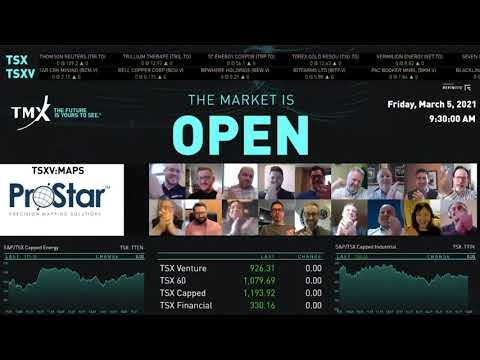ProStar Rings the Opening Bell on the Toronto Stock Exchange