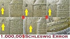 Germany 2 euro 2006 Schleswig Holstein Coins A D G F J Error