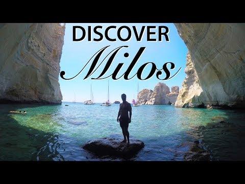 MILOS ISLAND, GREECE | BEST Boat Tour For Hidden Beaches!