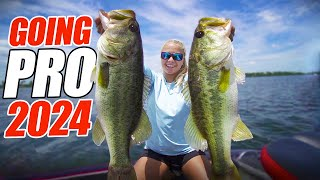 She is GOING PRO In 2024 Bassmaster Elite?