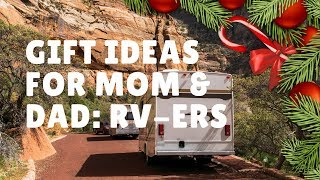 Gifts  Ideas For  Mom & Dad Rver Full Time Rv Living