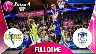 ZVVZ USK Praha v Dynamo Kursk - Full Game - Semi-Final - EuroLeague Women FINAL FOUR 2019