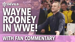 Wayne Rooney in WWE! | Wade Barrett Slap! | w/Fan Commentary