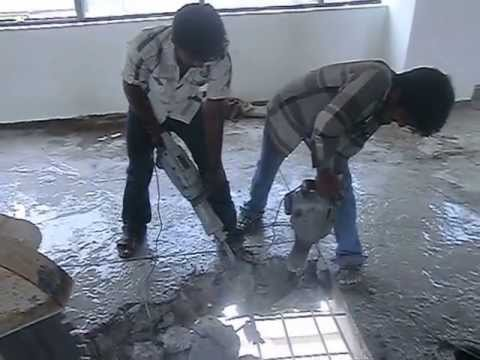Concrete Slab Breaking Chipping Contractors Tritherm