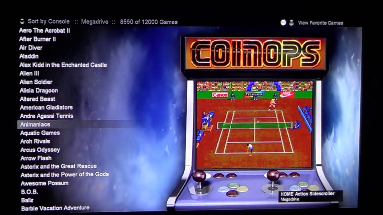 Best emulator console! Coinops 8 Massive with updated