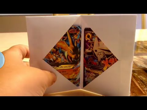 How to Make A Pokemon Card Holder! Not just for pokemon.
