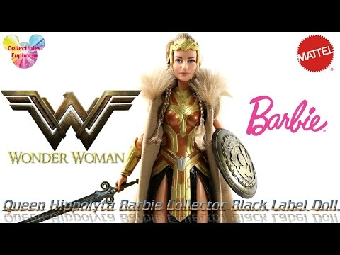 UNBOXING: Mattel | Wonder Woman | Queen Hippolyta Barbie Collector Black Label Doll Review