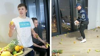 FRUIT NINJA KEEP UP CHALLENGE