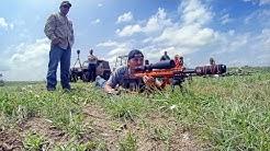 Long Range Shooting Competition Setup - Camargo, OK (June 28, 2014)