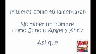 Me veo mejor sin ti (Remix) - Juno Feat. Khriz y Angel Lyrics