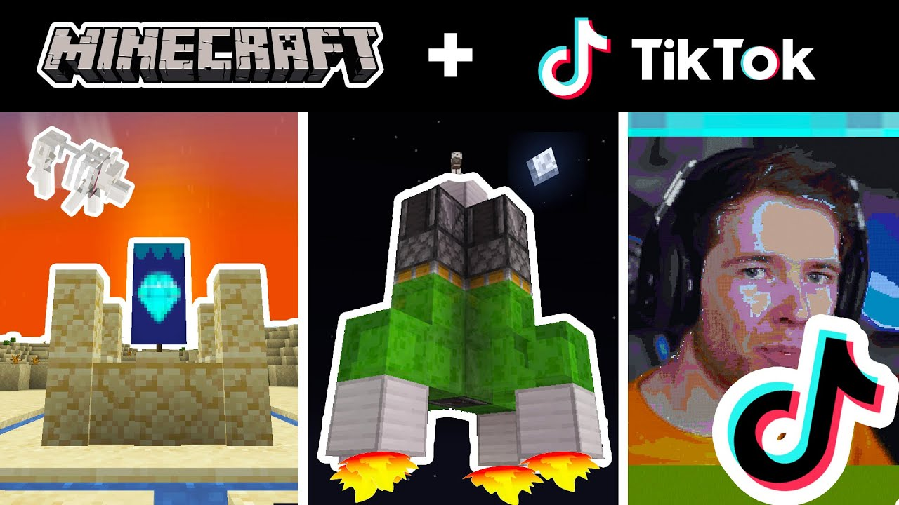 Minecraft Tik Tok Compilation - TIK TOK for DanTDM