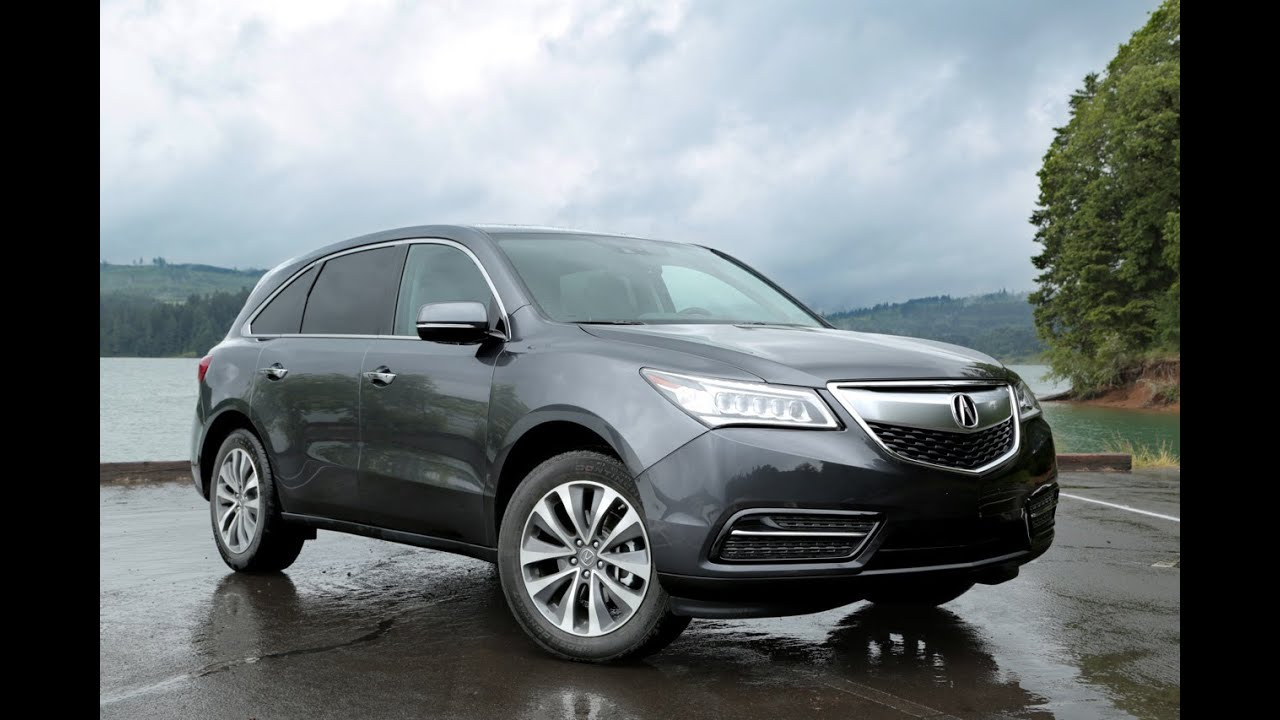 2014 acura mdx review youtube