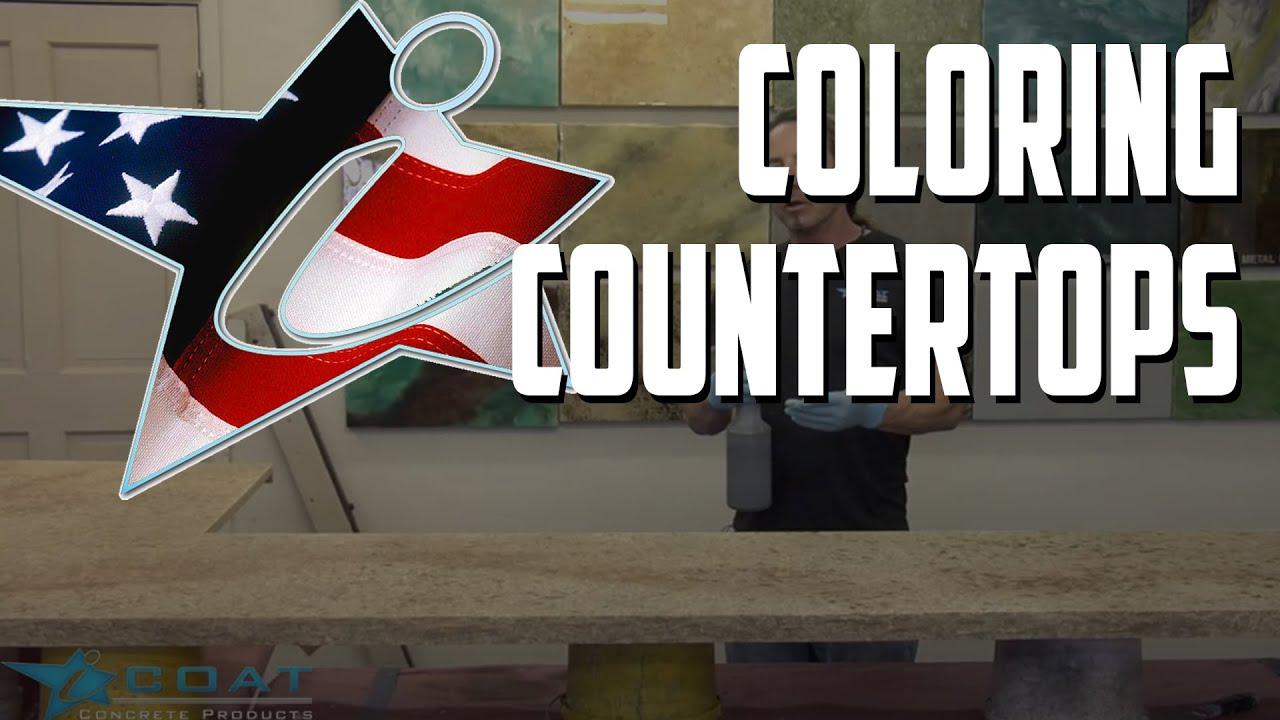 Coloring Icoat Countertops Ivory Brown To Look Like Granite You