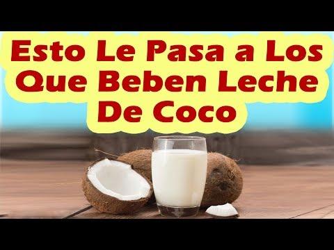 ESTO LE PASA A LOS QUE BEBEN LECHE DE COCO Propiedades Beneficios y Para Que Sirve La Leche De Coco