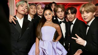 BTS & Ariana Grande moments