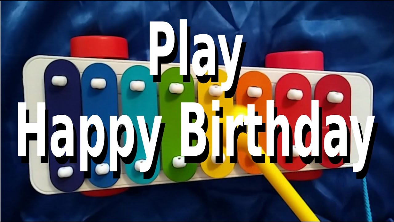 Happy Birthday Xylophone Notes — Lovely Meme