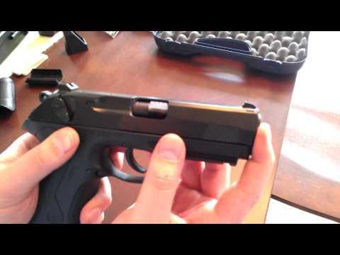 Beretta Px4 Storm 9mm Unboxing, Field Strip Detailed