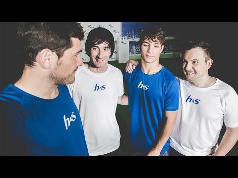 Evento #RetoHyS Iker Casillas vs Luzu (y amigos)