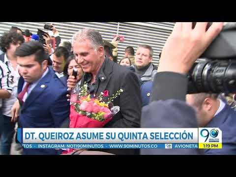 Feb 7 2019 Carlos Queiroz, el elegido para tomar las riendas de la Selección Colombia