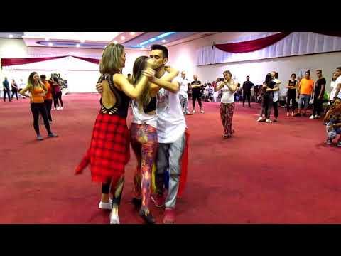 Maçã (Claudio Ismael Ft DJ D'Machine) l Tania Machin,Yesica Bovero & Freddy Duque l Venezuela