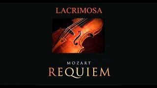 Mozart - Requiem [Lacrimosa] (Ambient piano & violin) - Royalty free music