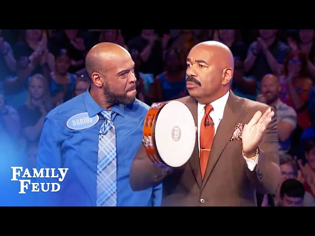 This Fast Money WIN deserved some tambourine! | Family Feud