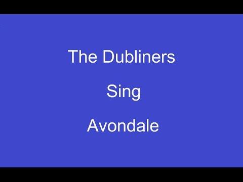 Avondale + On Screen Lyrics ---- The Dubliners