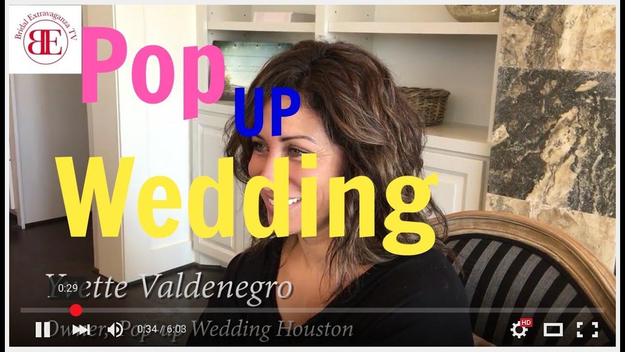 Pop Up Weddings Houston Get Married In