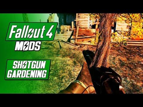 SHOTGUN GARDENING  - Beautifier and Non-Workshop Scrapping - Fallout 4 Mods
